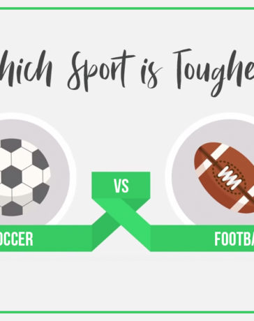 Which sports is tougher? Football or Soccer?