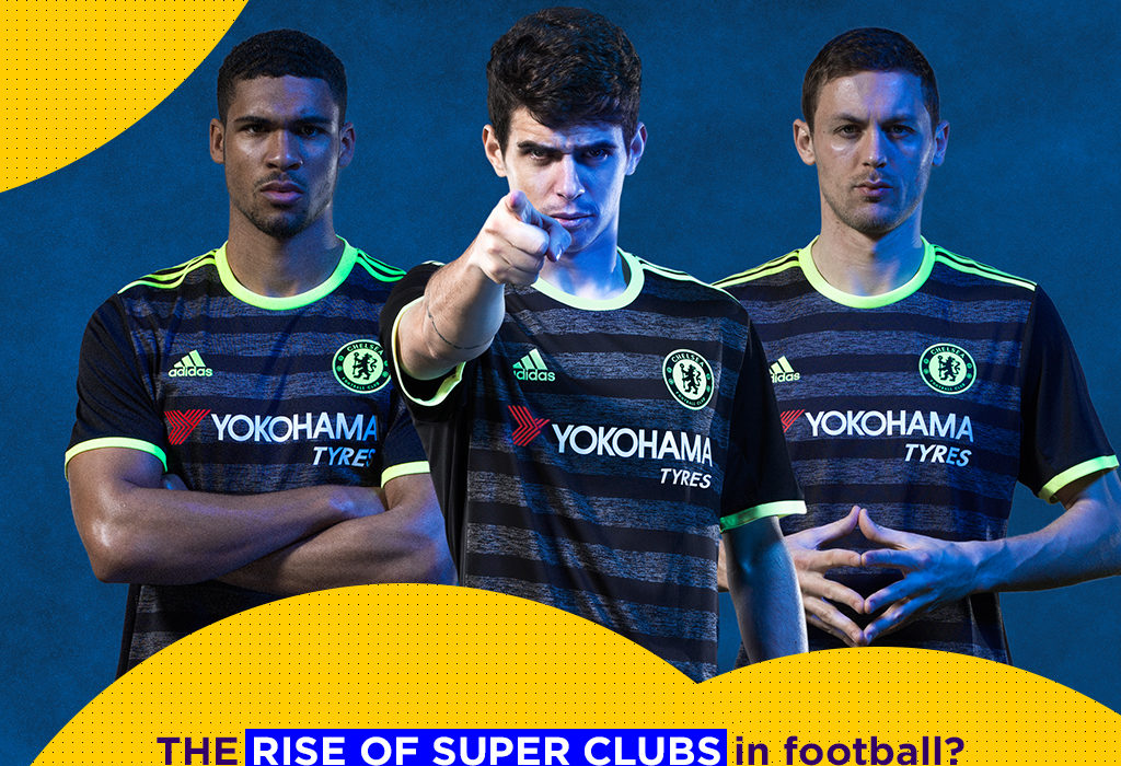 Super soccer & football clubs in major leagues