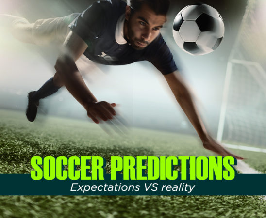 Soccer Predictions: Expectations VS reality